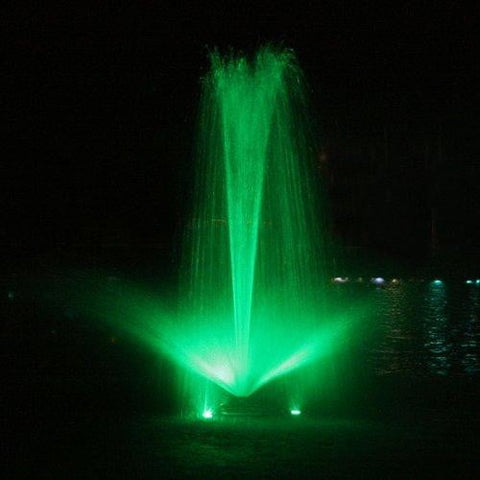 Kasco Color Changing RGB Fountain Lighting - 3 Light Kit