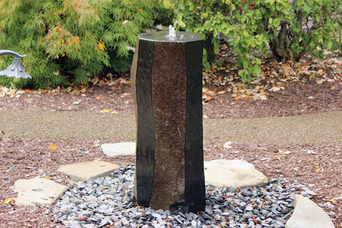 Polished Sides Basalt Column