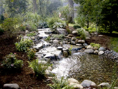 Just-A-Falls Pondless Waterfall Kit - Extra Large