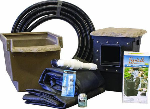 Pro-Series Mini Pond Kit - Complete for 6' X 6' Pond - Living Water Aeration