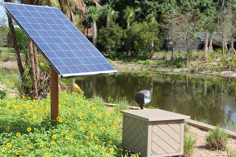 Solaer Solar Powered Pond Aerator - Up to 2 acres