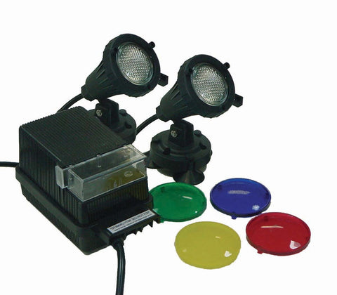 Two EPL20 Light Kit with 100 watt transformer - Living Water Aeration