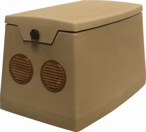 Weatherproof Pond Aerator Cabinet with Cooling Fan