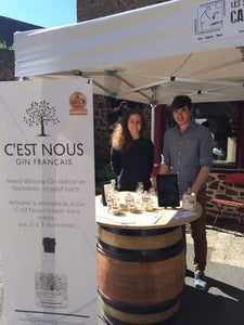 Meet the Makers of C'est Nous Gin - Julie Le Roux & David Granville