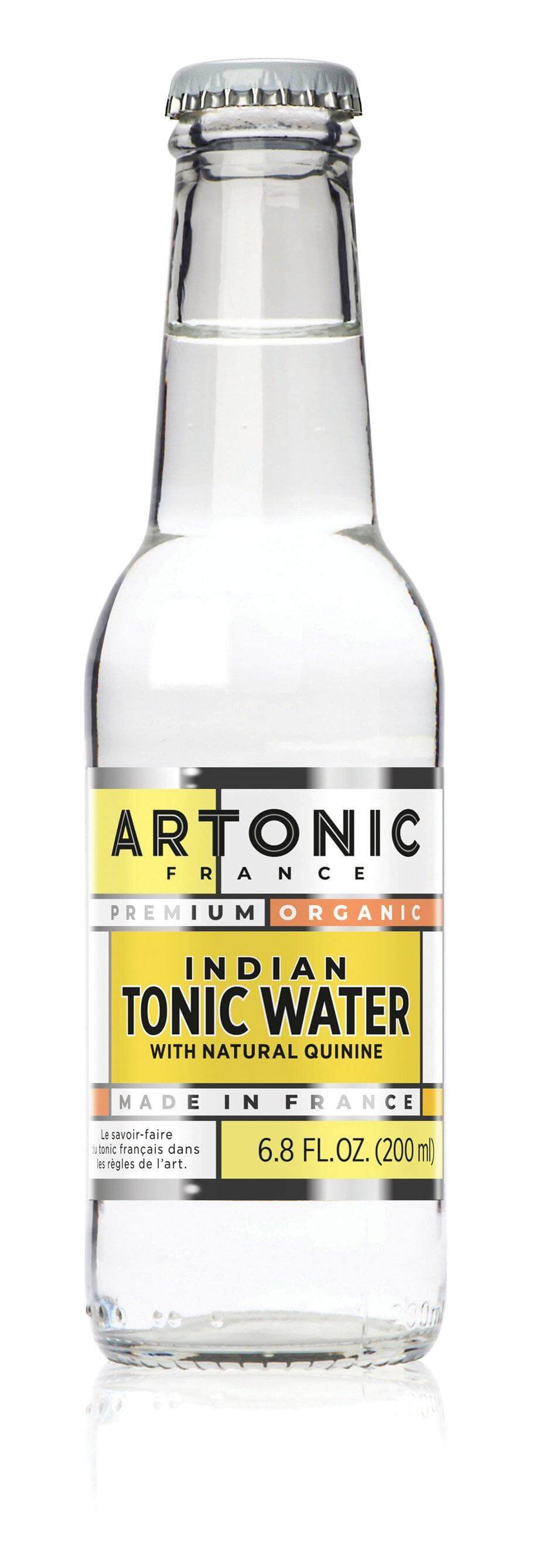ARTONIC Indian Tonic Water  Made in France- GINSATIONS