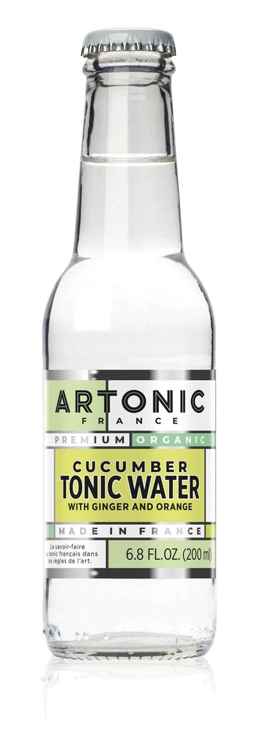 ARTONIC Cucumber Tonic Water with Ginger & Orange - GINSATIONS