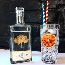 Amber Blood London Dry Gin - GINSATIONS