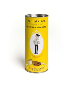 Paul and Pippa Don Manchego Artisan Biscuits - GINSATIONS