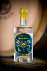 Meunier's award-winning French Gin by Distillerie Meunier in the French Alps
