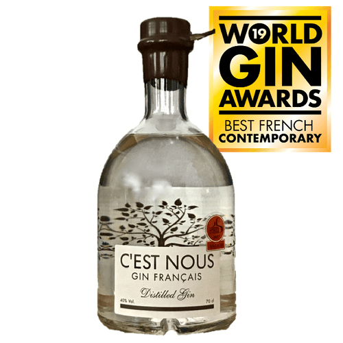C'est Nous Distilled Gin - GINSATIONS