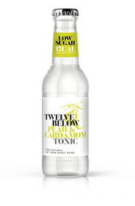 TwelveBelow Pear & Cardamom Tonic - Low calorie & low sugar! - GINSATIONS