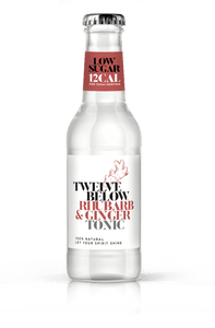 TwelveBelow Rhubarb & Ginger Tonic - Low calorie & low sugar! - GINSATIONS