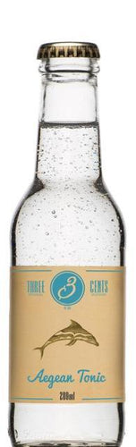 Three Cents Aegean Tonic - GINSATIONS