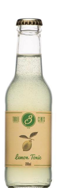 Three Cents Lemon Tonic - GINSATIONS