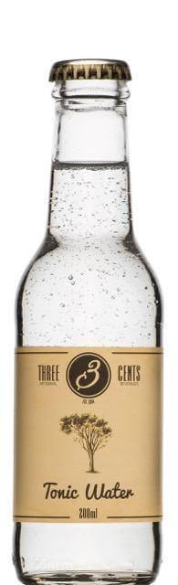 Three Cents Tonic Water - GINSATIONS