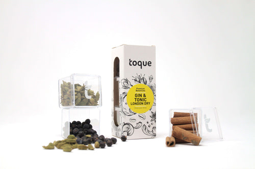 Toque London Dry Gin & Tonic Botanicals 3-Pack Kit - GINSATIONS