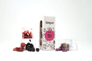 Toque Pink Gin & Tonic Botanicals 3-Pack Kit - GINSATIONS