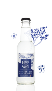 HYSOPE Elderflower Tonic Water