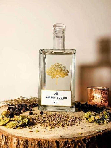 Amber Blood French London Dry Gin - GINSATIONS