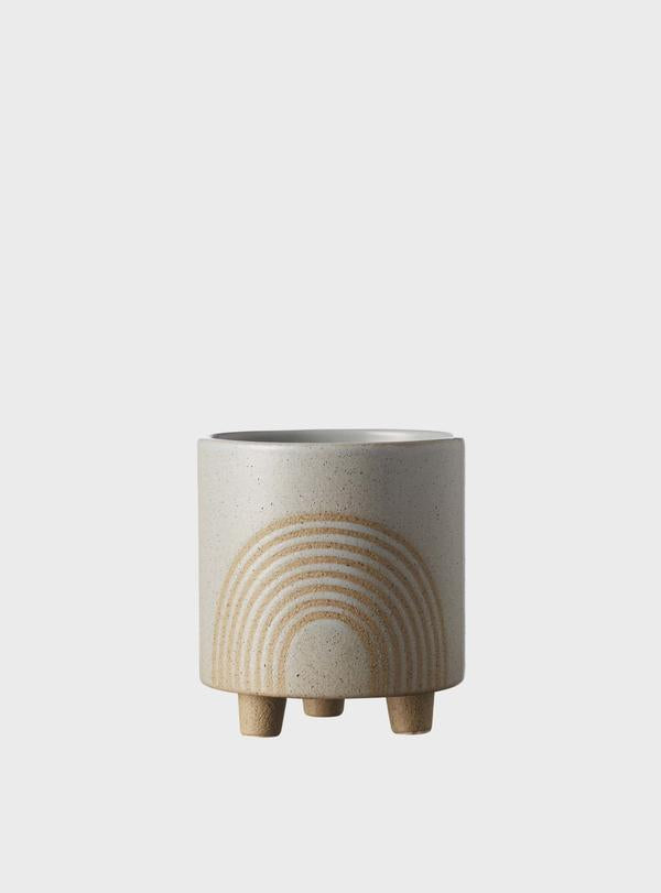 Birch Rainbow Pot - Grey