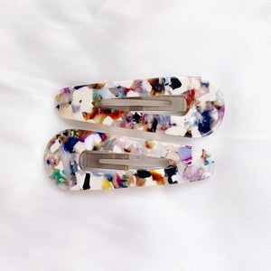 Multi Colour Duo Hair Clips
