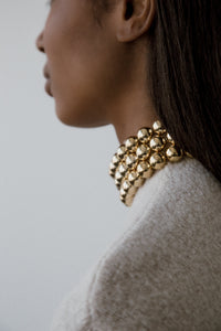 Alex Beaded Collar by Young Frankk
