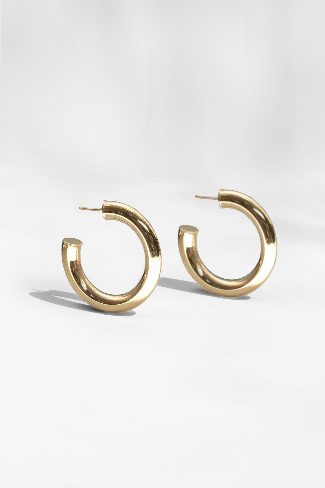 Dylan Hoop Earrings by Young Frankk