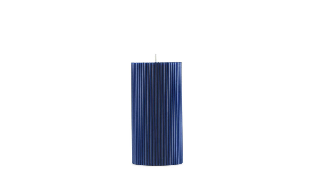 Ribbed Block Candle by Normann Copenhagen