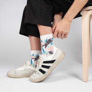 Hound Socks by Slowdown Studio