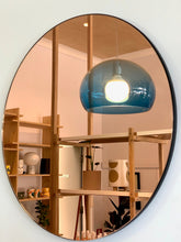 Load image into Gallery viewer, Rose Gold Round Mirror