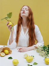 Load image into Gallery viewer, Mini Lemon Necklace by Wolf & Moon
