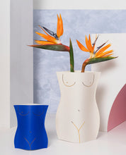 Load image into Gallery viewer, Venus Paper Vase Off White