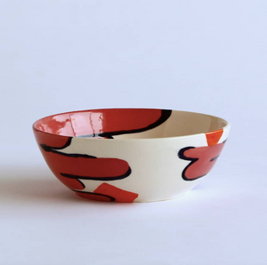 Handmade and Painted Cereal Bowl