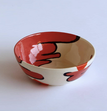Load image into Gallery viewer, Handmade and Painted Cereal Bowl