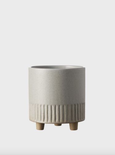 Birch Pot - Grey Medium