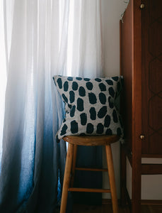 Blue Dots Cushion Cover