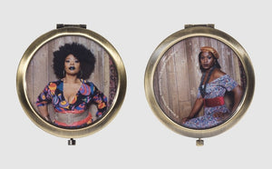 Pocket Mirror by Mickalene Thomas