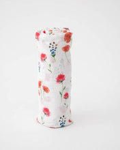Load image into Gallery viewer, Cotton Muslin Swaddle in Wild Mums