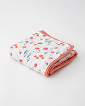 Load image into Gallery viewer, Cotton Muslin Baby Quilt - Wild Mums