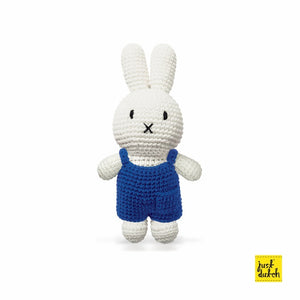 Handmade Miffy in her Overalls