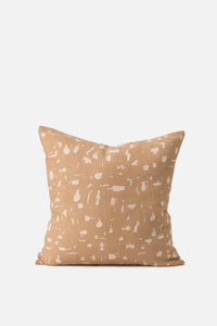 Still Life Cushion Cover - Tea + Biscuit