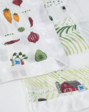 Load image into Gallery viewer, Cotton Muslin Security Blankets - Rolling Hills + Farmers Market