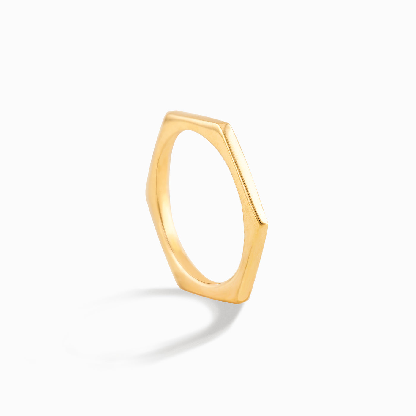 Hexagon Slim Ring