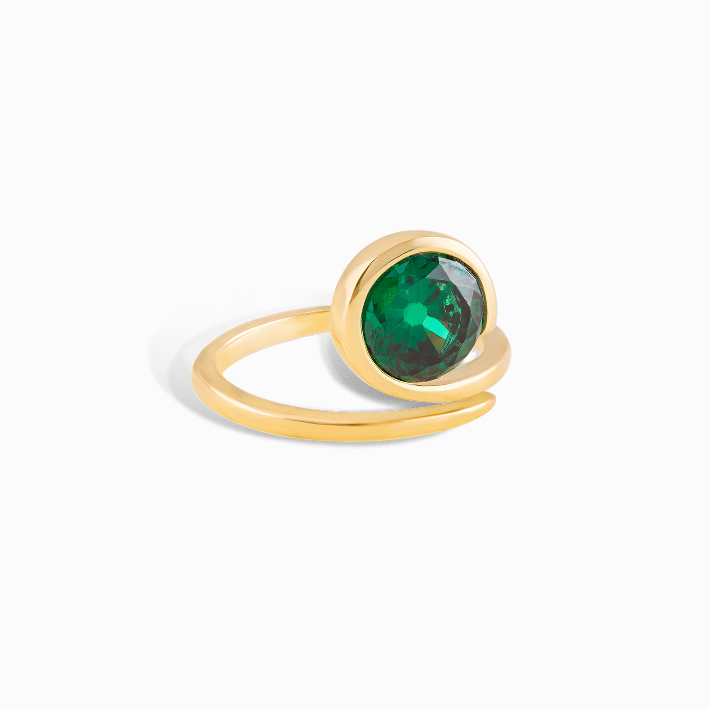 Emerald Stacking Ring