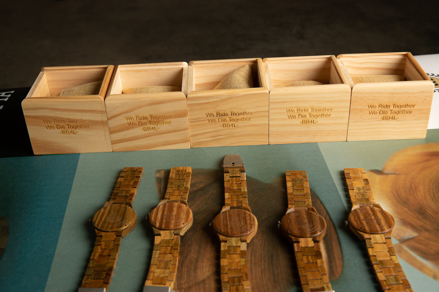 Bewell Wooden Watch as a groomsmen gift