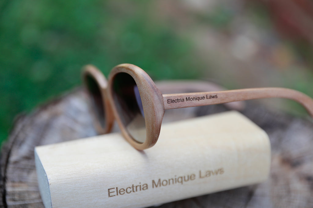 wooden sunglasses personalized