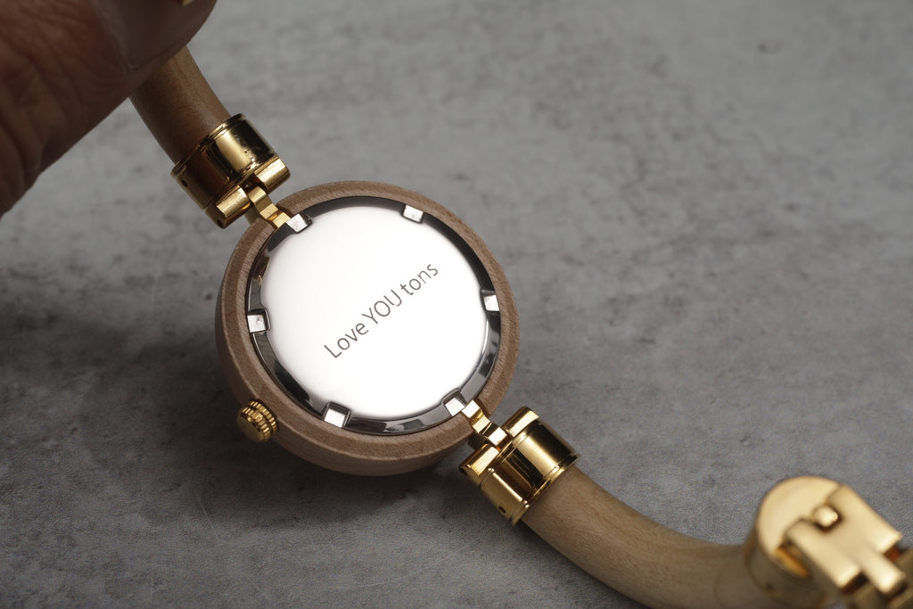 engraved watch from bewell