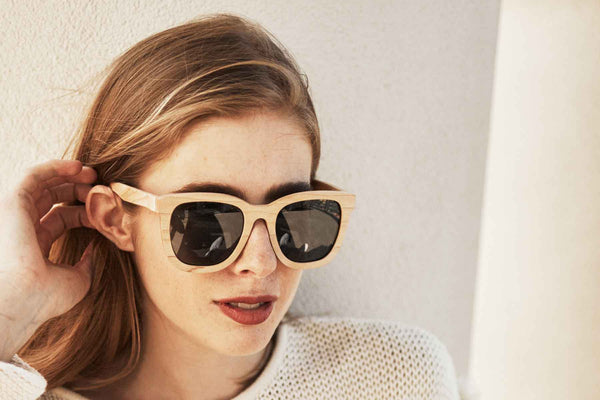 Bewell wood sunglasses