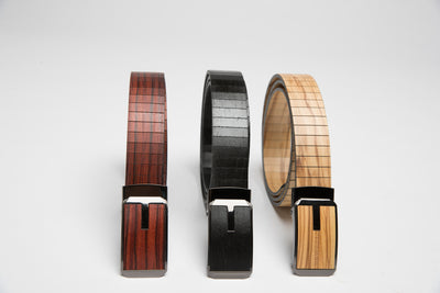 Silent Slide wooden belt