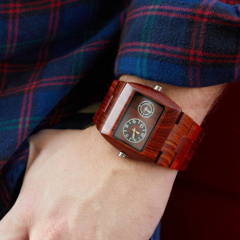 wood watch for men by bewell for valentines day